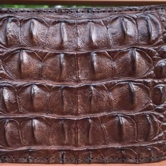 men-crocodile-leather-wallet-chocolate-color