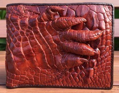Hand-skin-Crocodile-wallet-for-men