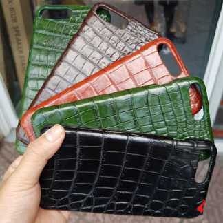 Durable-crocodile-leather-case-for-iPhone-8-Plus