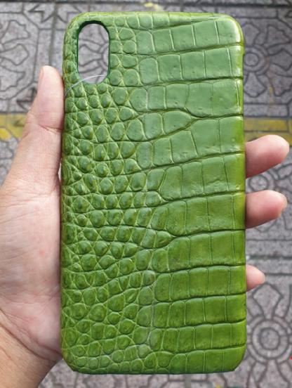 genuine-crocodile-phone-case-for-iPhone-XS-Max