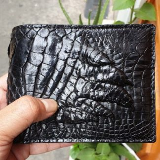 Double-side-hand-skin-crocodile-purse