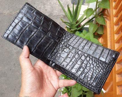 Double-side-hand-skin-Crocodile-purse