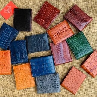 Mini-crocodile-leather-wallet-ostrich-leather-wallet