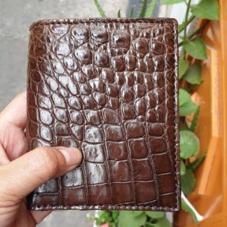Vertical-crocodile-men's-wallet-double-side