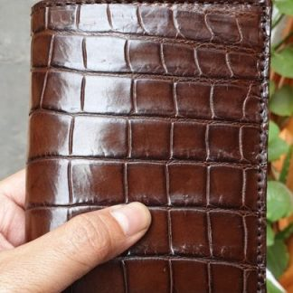Genuine-crocodile-bifold-wallet